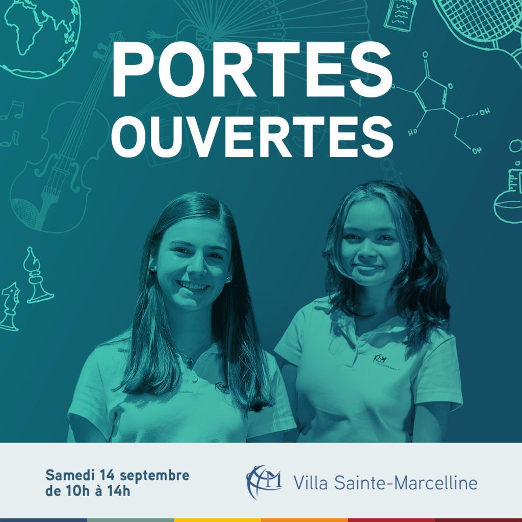 Portes ouvertes pour l'admission au secondaire à la Villa Sainte-Marcelline
