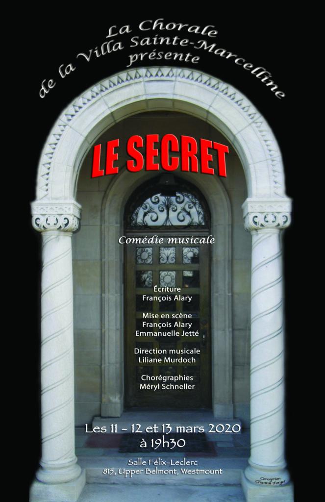 Comédie musicale: le secret