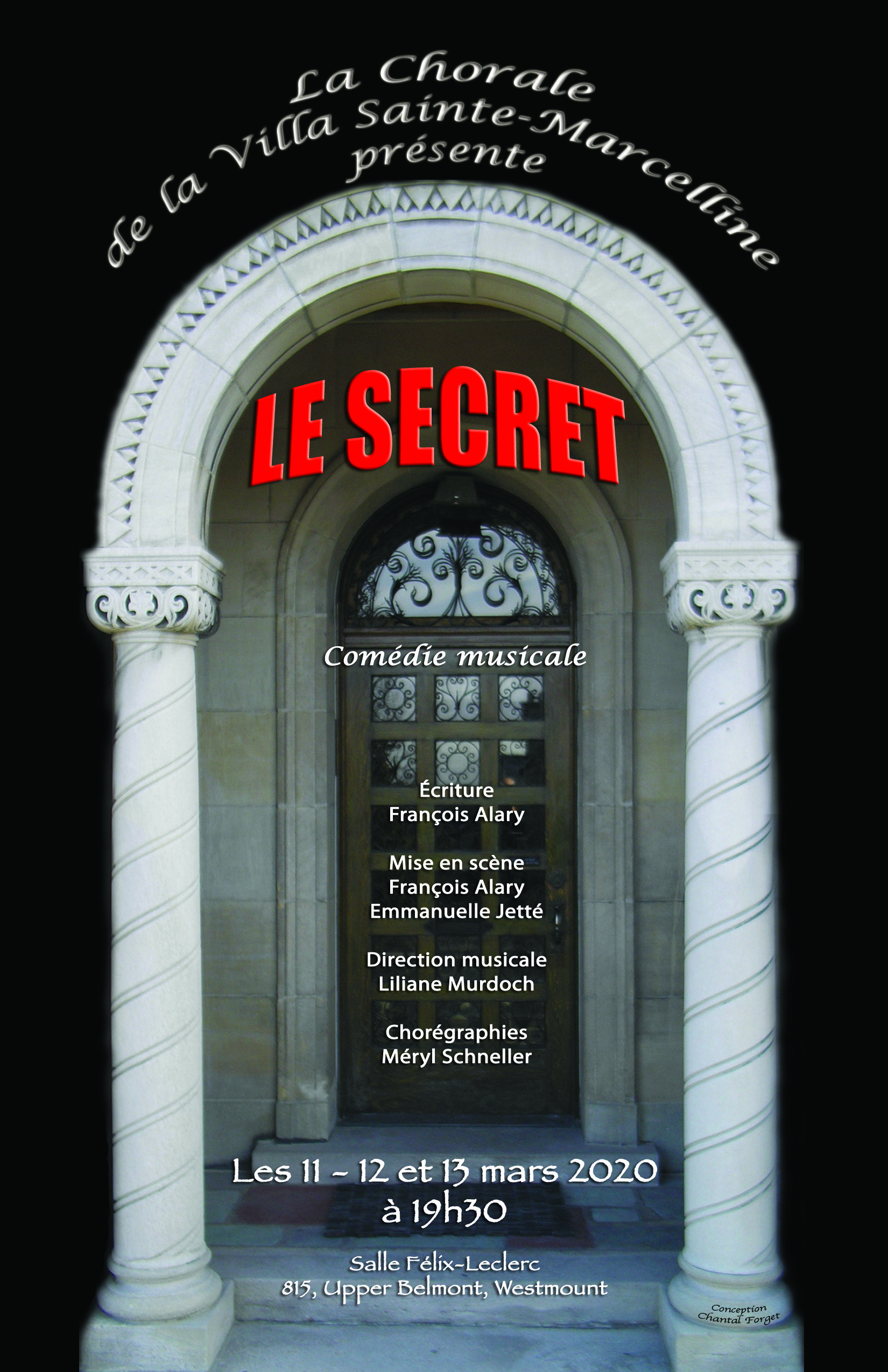 Comédie musicale: le Secret!