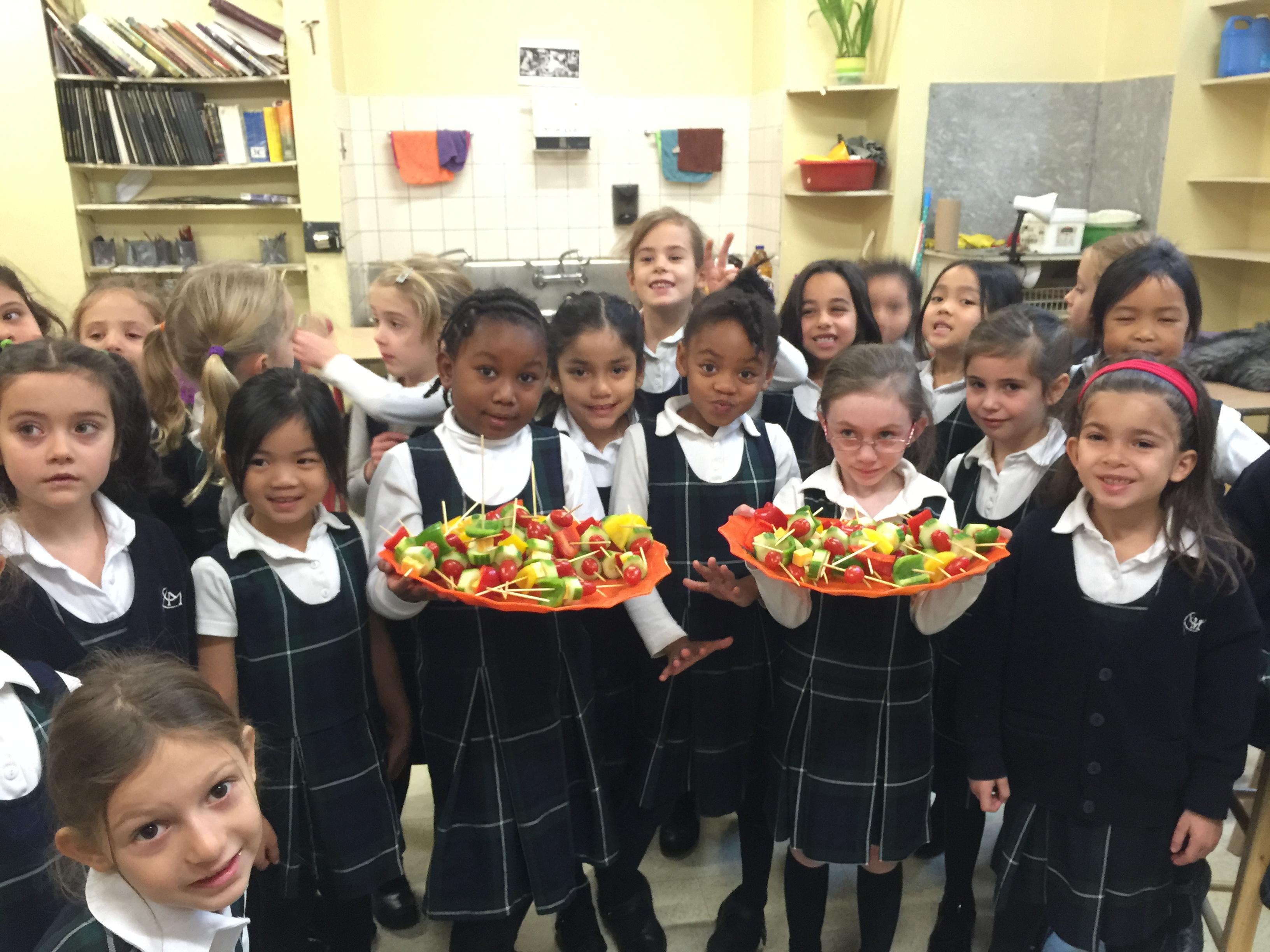 On goûte à l'automne au marché, à la ferme et à l'école
