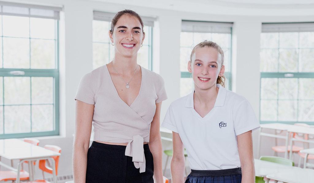 Raphaëlle et Amélia