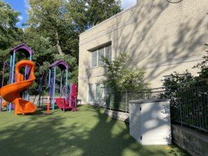 Villa Sainte-Marcelline cour d'école